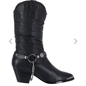 Dingo Leather Cowboy Boots